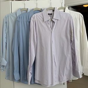 Boss button down tops